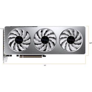 GIGABYTE GeForce RTX 3060 VISION OC 12G Graphics Card, 3 x WINDFORCE Fans, 12GB 192-bit GDDR6, Video Card   GV-N3060VISION OC-12GD