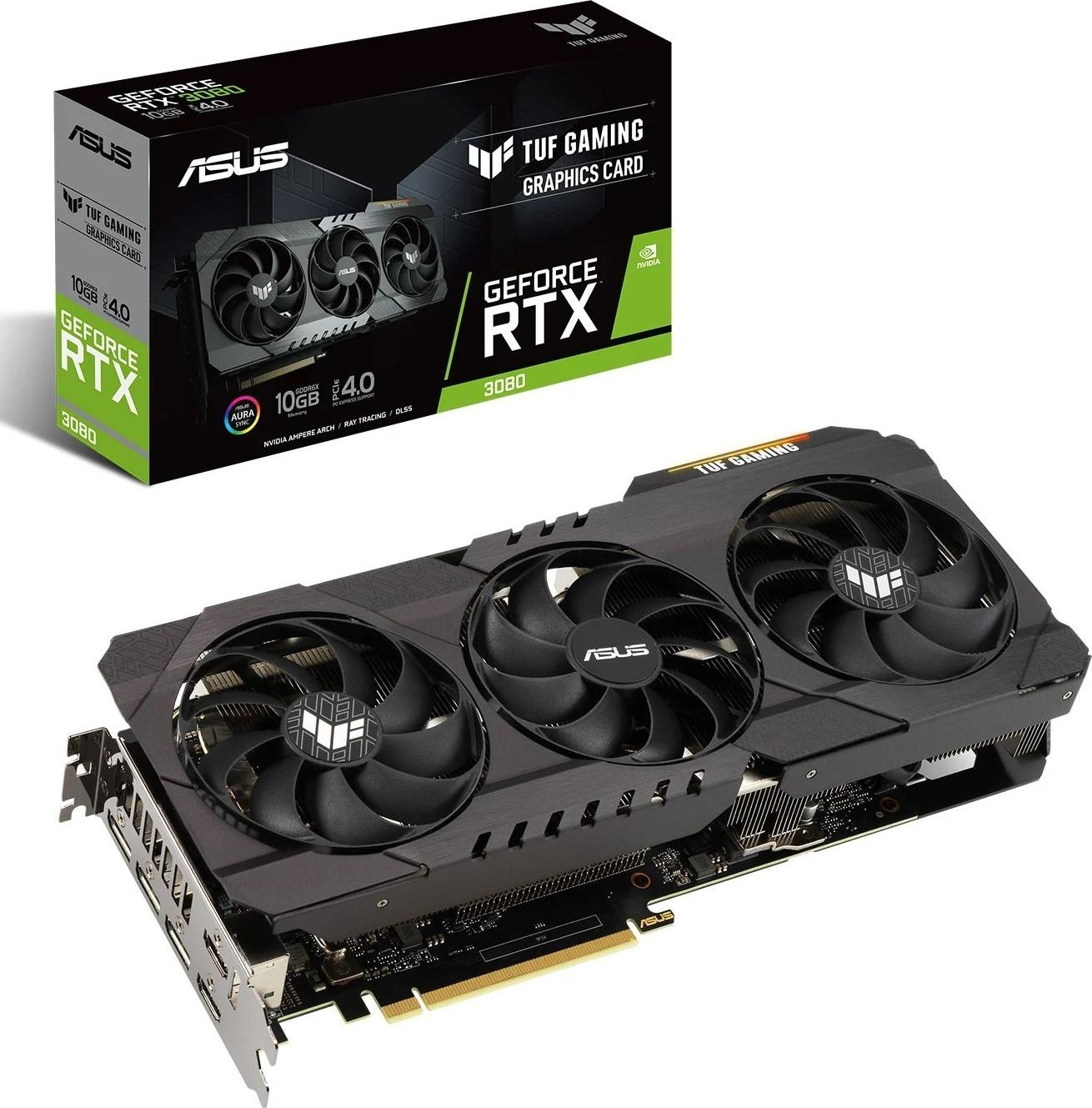 ASUS TUF Gaming GeForce RTX 10 10GB GDDR10X Graphics Card