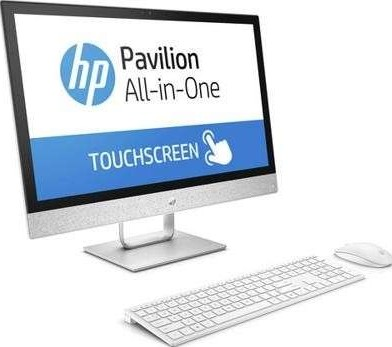 HP PAVILION 24 r001ne 23 8 Inch FHD Touch Screen All In One PC Intel Core  i5 7400T 2 4GHz, 8GB 1TB