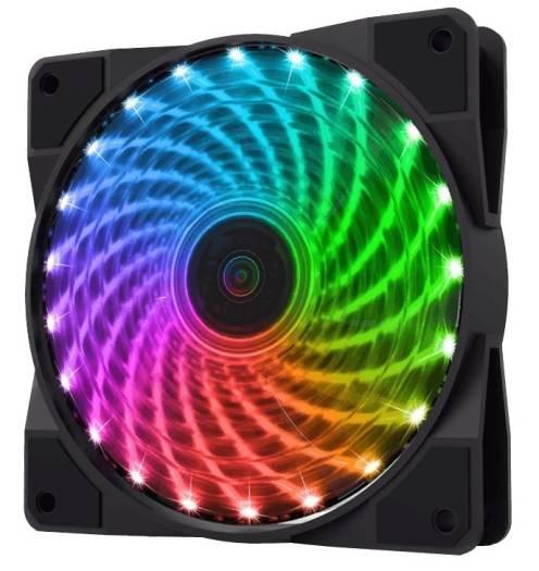Gamemax Cl 400 Rgb 120mm 4xrgb Fan In A Kit Rf Remote