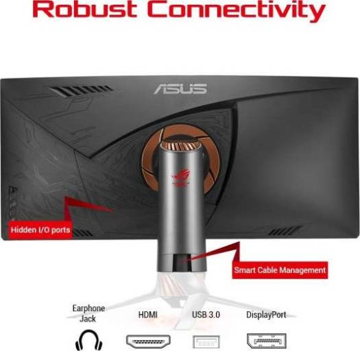 ASUS ROG Swift PG348Q Gaming monitor QHD (3440x1440) Curved Monitor | 90LM02A0-B01370