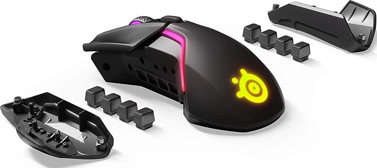 e4b62fbb0bf SteelSeries Rival 650 Quantum Wireless Gaming Mouse 12,000 CPI TrueMove3+  Dual Optical Sensor 8 Zone RGB