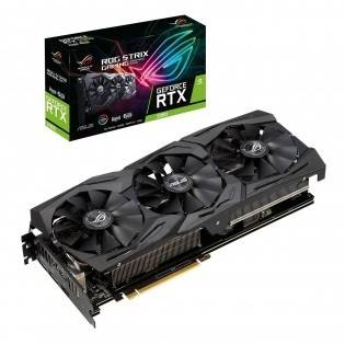 ASUS NVIDIA GeForce RTX 2060 6GB A6G-GAMING, Cuda Cores 1920, 192 Bit, 12 nm, PCIe 3.0(x16), Max Resolution 7680x4320 @ 60Hz (8K UHD), ROG Strix Advanced Gaming Turing Graphics Card | 90YV0CI1-M0NA00