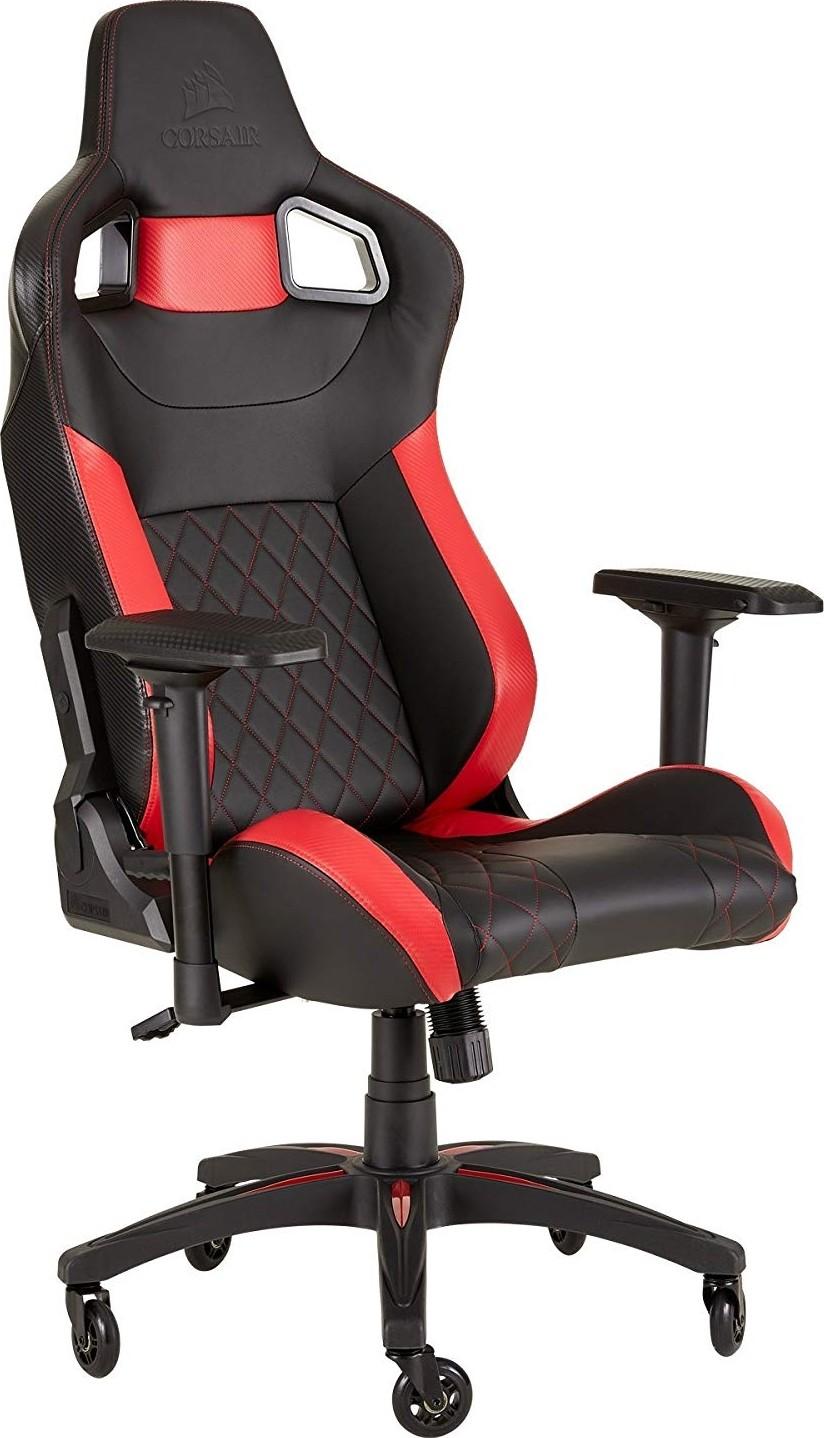 Corsair T1 Race Gaming Chair Racing Design Black Red