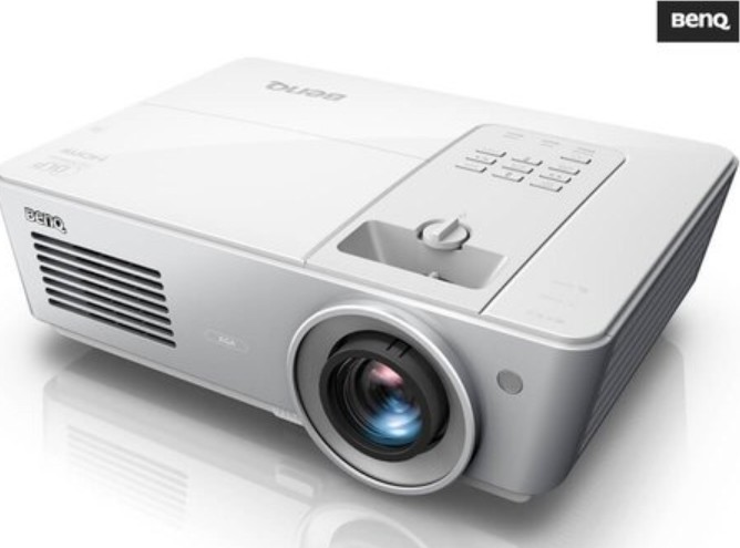BenQ SX765 DLP Projector, 1024 x 768 pixel, for Home Office, DC3 DMD Chip,  Fixed lens, 2D Keystone