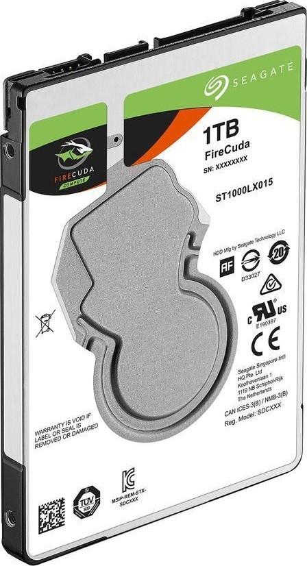 Seagate FireCuda ST1000LX015 1TB SATA 6.0 GB//s 64MB Hard Drive 2.5 inch