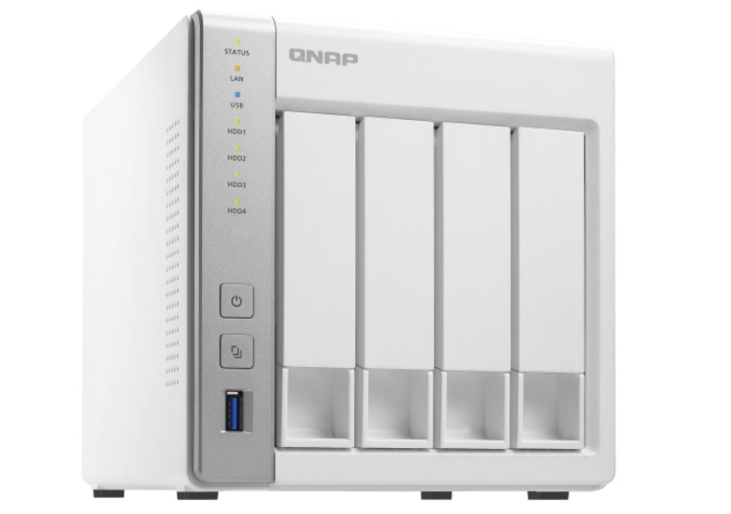 QNAP TS 431P2 4G 4 Bay Personal Cloud NAS with DLNA, ARM Cortex A15,1 7GHz  Quad Core, 4GB RAM TS 4
