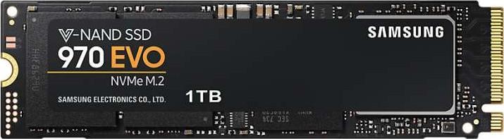 Samsung 970 EVO 1TB NVMe M.2 Internal Solid State Drive MZ-V7E1T0BW