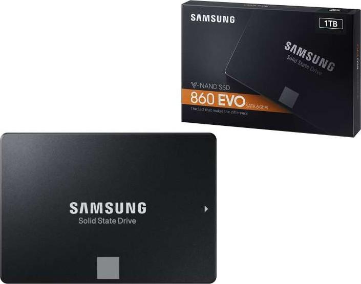 Samsung 860 EVO 500GB 2.5 Inch SATA III Internal Solid State Drive Brand New