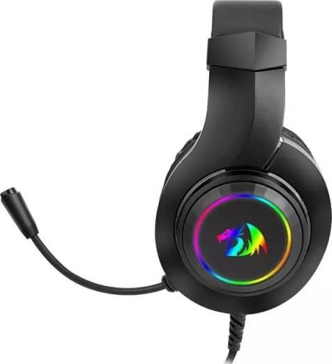 Redragon HYLAS H260 RGB gaming Headphone,3.5mm Surround sound Computer headset Earphones Microphone for PS4 Switch Xbox-one | H260-RGB