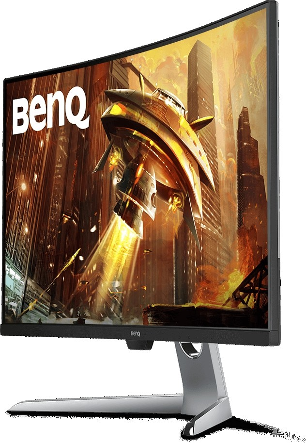 BenQ EX3203R Curved Gaming Monitor 32 Inch WQHD, Resolution 2560x1440,  144Hz Refresh Rate, FreeSync 2, DisplayHDR 400, 4ms Response Time | EX3203R