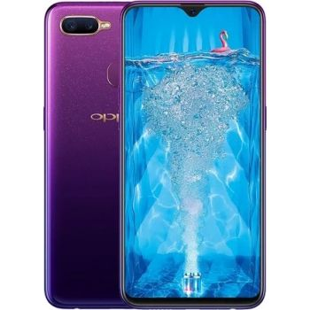 Renewed - Oppo F9 Dual SIM Mobile Phone, 6GB RAM, 64GB Storage - Purple | 19109