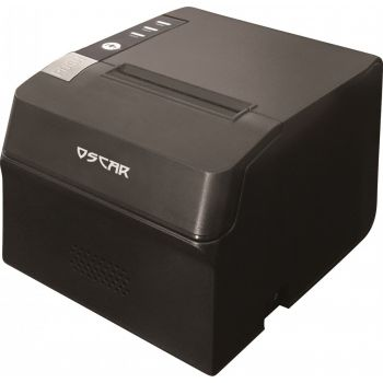 """OSCAR Point of Sale POS System J1900 4GB RAM 64 SSD 15"""" Touchscreen + Thermal Receipt Printer 80mm + Cash Register Drawer 5Notes 8Coins + Barcode Scanner 1D -  Shiny Black 