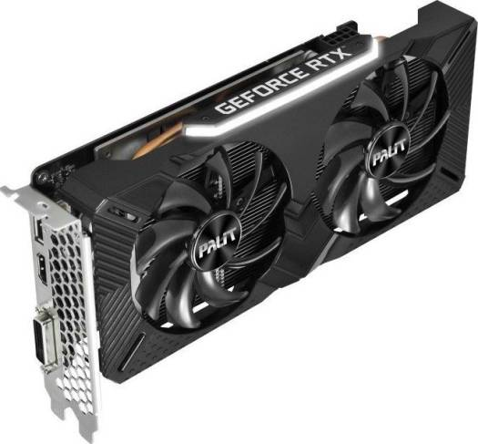 Palit GeForce RTX 2060 Dual, 6GB GDDR6, 192bit, PCI-E 3.0 x 16, 7680x4320@60Hz, DVI, HDMI, DP Gaming Graphics Card | NE62060018J9-1160A