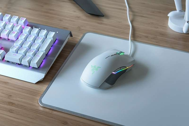 32d7823bca2 Razer Lancehead Tournament Edition 16,000 DPI Professional Grade RGB  Ambidextrous Wired Gaming Mouse (Mercury White