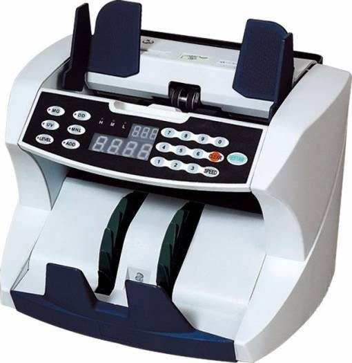 Baijia BJ-2100 Bill Money Currency Cash Counting Machine UV & MG Counterfeit