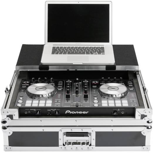 Magma DJ Controller Workstation DDj-SR/DDj-RR, Inner measures 55 x 32.5 x 4.5 cm, Black/Silver | Workstation DDJrr/sr