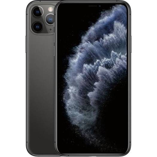 Apple iPhone 11 Pro Max 256GB Space GRAY Dual Nano Sim with FaceTime HK Specs (2 Pin Plug Adapter)