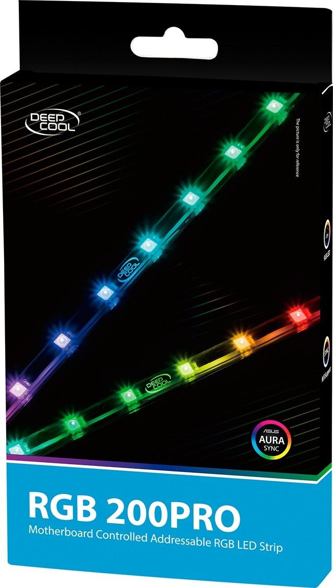 cheap for discount cbaaf 53e82 DeepCool RGB 200 PRO Addressable RGB LED Strip Magnetic Lightning Kit |  DP-LED-RGB200PRO