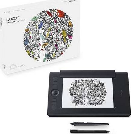 Wacom Intuos Pro Paper Graphic Tablet with Pro Pen 2 Stylus - Medium | PTH-660P-N