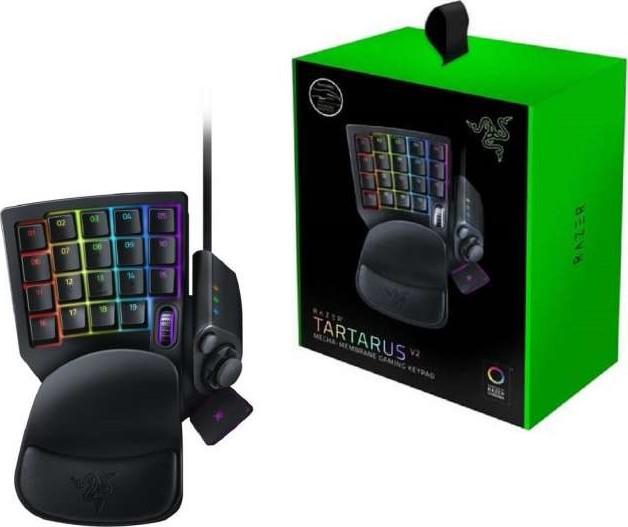 Razer Tartarus V2 Mecha-Membrane Gaming Keypad (32 Fuuly Programmable Keys,  Chroma RGB Backlight) | RZ07-02270100-R3M1