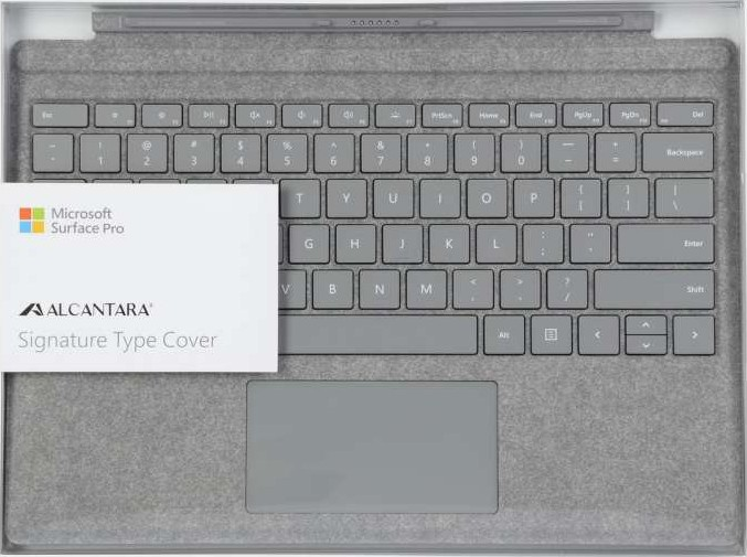 Microsoft Surface Pro Signature Type Cover English Arabic