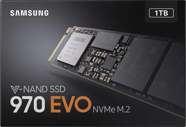 Samsung 970 Evo 1tb Ssd M 2 Type 2280 Pcie 3 0 4 Nvme 1 2 V Nand