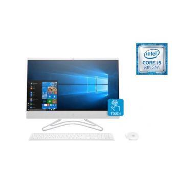 "HP ALL IN ONE 24-F0002NE CORE I7 – 8700T 2.4GHZ  8GB  1TB 23.8"" FHD TOUCH  2GB GTMX110 WIN 10 HOME Wireless Keyboard Mouse  | 4PJ66EA"