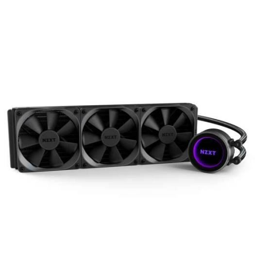 NZXT Kraken X72 360mm All-in-One Liquid CPU Cooler with Lighting and CAM Controls | RL-KRX72-01