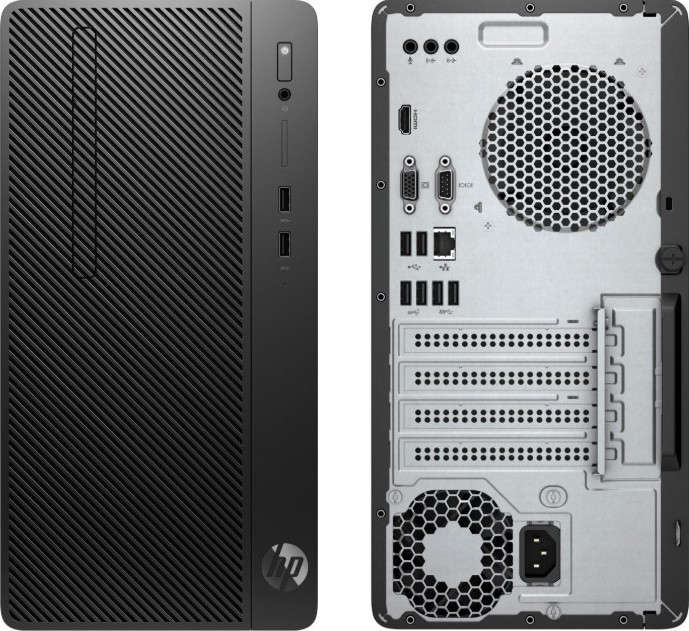 HP 290 G2 Microtower Desktop, Core i3-8100 3.6GHz, 4GB RAM, 1TB HDD, Intel HD Graphics, No OS (DOS) | 3ZD85EA اشتر الآن، أفضل الأسعار في الامارات، دبي، ابو ظبي، الشارقة