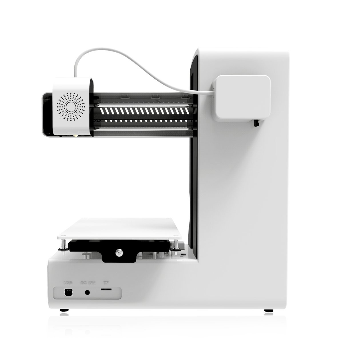 Geeetech E180 3D Printer, Mini 3D Printer with Power Failure Recovery, 3 2  Full Color Touch Scree