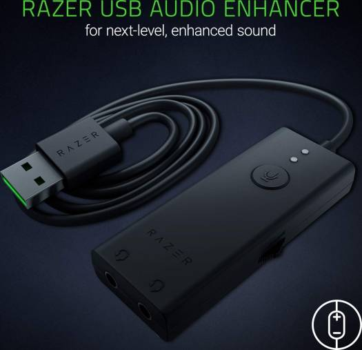 Razer Ifrit: Low Profile Design - Professional Grade Condenser Mic With Usb Audio Enhancer - Duo-Streaming Capability - Gaming, Streaming And Brocaster Headset | RZ82-02300100-B3M1
