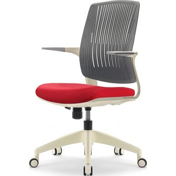 Navodesk Basic Chair, Ergonomic Desk Chair, Office & Computer Chair For Home & Office - Red   BASIC-RD