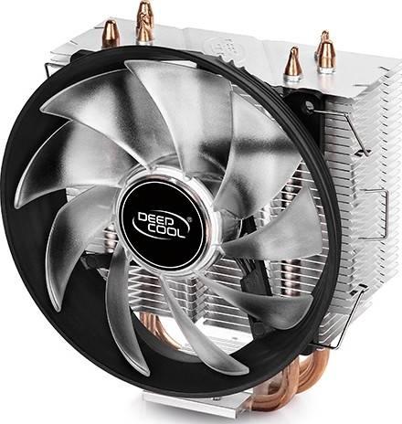 DEEPCOOL Gammaxx 300 Red LED CPU Cooling Fan - 120mm   DP-MCH3-GMX300RD