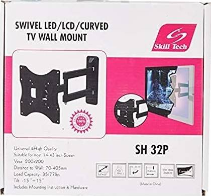 Skilltech Swivel Wall Mount For 14inch To 42inch Panels   SH32P