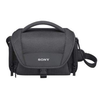 Sony LCSU21 Soft Carrying Case For Cyber-Shot And Alpha NEX Cameras - Black