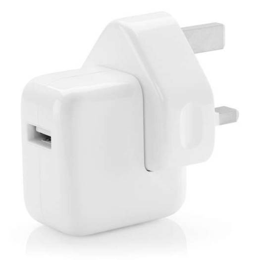 Apple 12W USB Power Adapter (3 Pin) | MD836