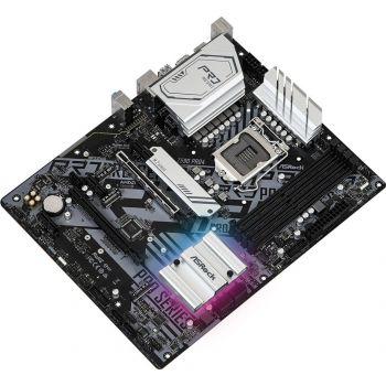 ASRock Intel Z590 Pro4 - Intel Z590 Chipset, LGA1200, DDR4, PCI-Express 4.0, SATA3, 3x M.2, 2.5GbE, USB 3.2 Gen2, ATX Motherboard | 90-MXBEJ0-A0UAYZ