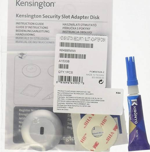 Kensington Security Slot Adapter Kit for Ultrabook | K64995