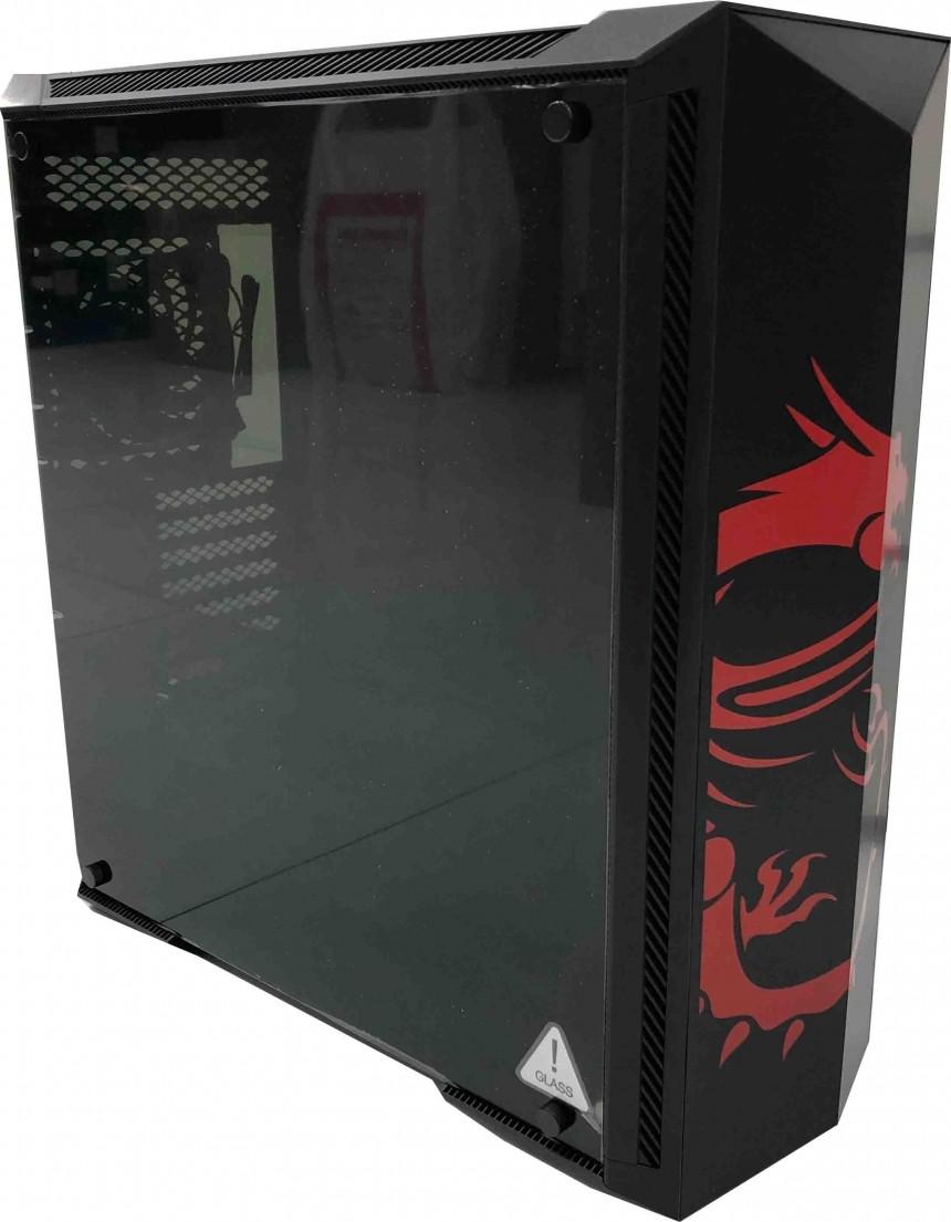 Msi Gungnir 100d E Atx Computer Case With 2xusb 3 0 1x
