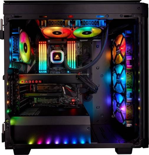 Corsair Hydro Series H100i RGB PLATINUM 240mm Liquid CPU Cooler | CW-9060039-WW