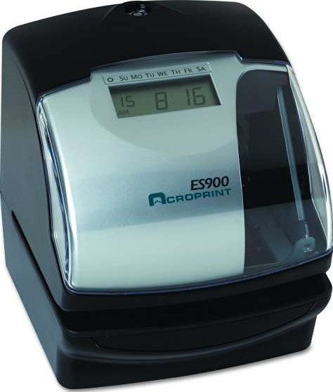 Acroprint Es900 Automatic Time Recorder Electronic