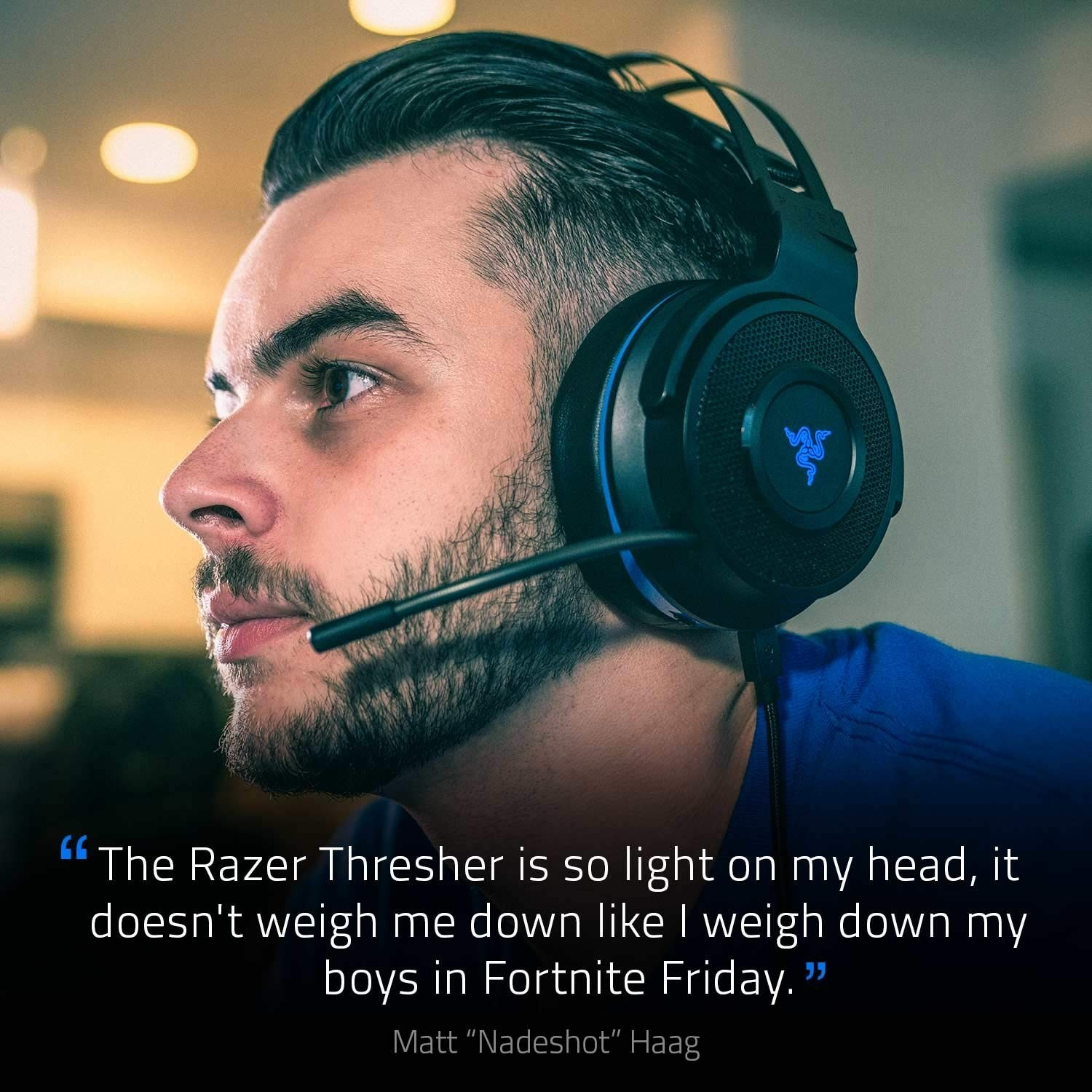 Razer Thresher Wireless and Wired Gaming Headset for PS4 2 4 GHz USB dongle  3 5 mm analog connectio