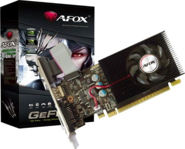 Afox GT610 nVidia Geforce 2048MB DDR3 Graphics Card HDMI, VGA, DVI-D |  AF610-2048D3HG6 Buy, Best Price in UAE, Dubai, Abu Dhabi, Sharjah