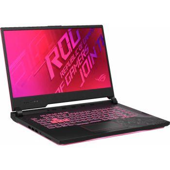 "Asus ROG Strix G512 Gaming Laptop, 15.6"" FHD, 144Hz, Core i7-10750H, NVIDIA GeForce GTX 1650Ti, 8GB RAM, 512GB SSD, RGB Keyboard - Windows 10 | 90NR0383-M02460"