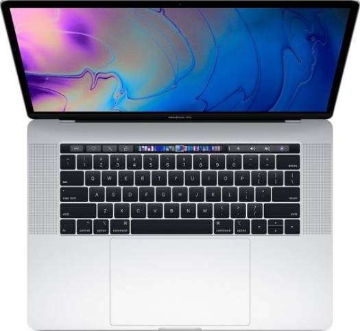 "Apple MacBook Pro 15.4""  with Touch Bar Mid 2018 (8th Generation i7 2.2GHz, 16GB DDR4, 256GB PCIE SSD, Radeon Pro 555X, Silver) 