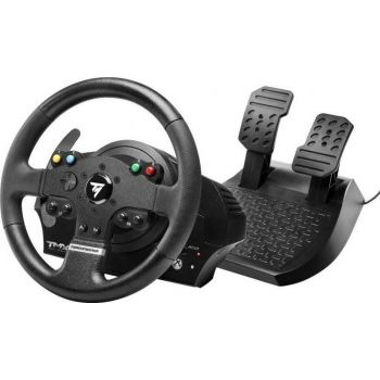 Thrustmaster TMX Force Feedback Retour De Force, Steering Wheel And Pedals Set, For Xbox One And Pc, Black   TMX-FORCE-FEEDBACK-RETOUR
