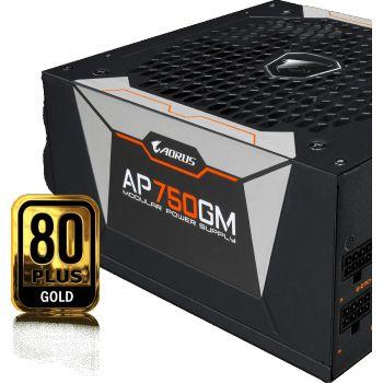 Gigabyte Aorus P750W 80 Plus Gold Fully Modular  ATX Power Supply | GP-AP750GM