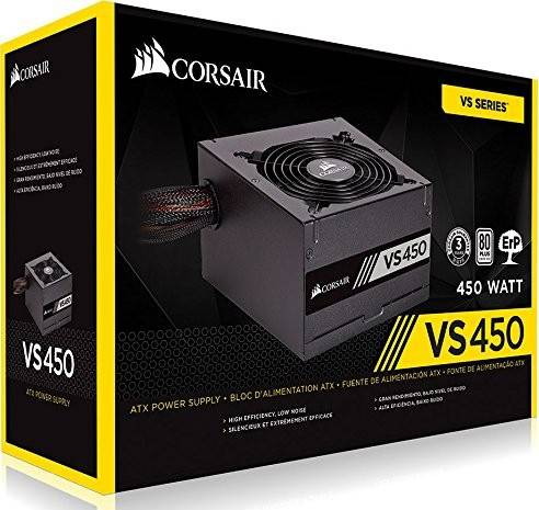 Corsair VS450 450 Watts ATX 12V v2.31  Power Supply | CP-9020096-UK / CP-9020170-UK