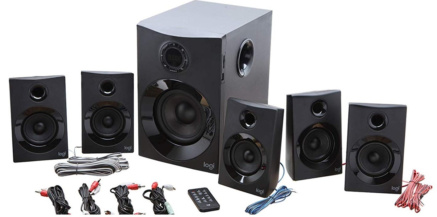 Logitech Z607 5 1 Surround Sound Speakers Bluetooth Rca 160 W